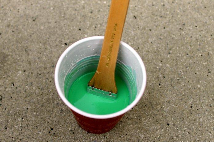St Patricks Day Chalk Paint