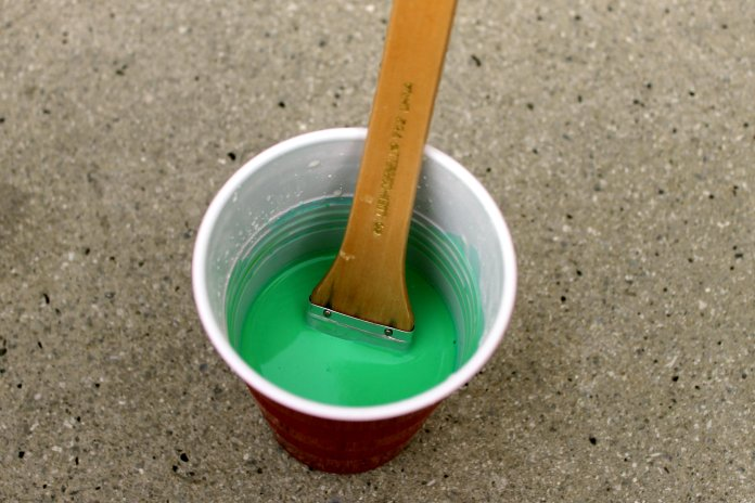 St Patricks Day Chalk Paint