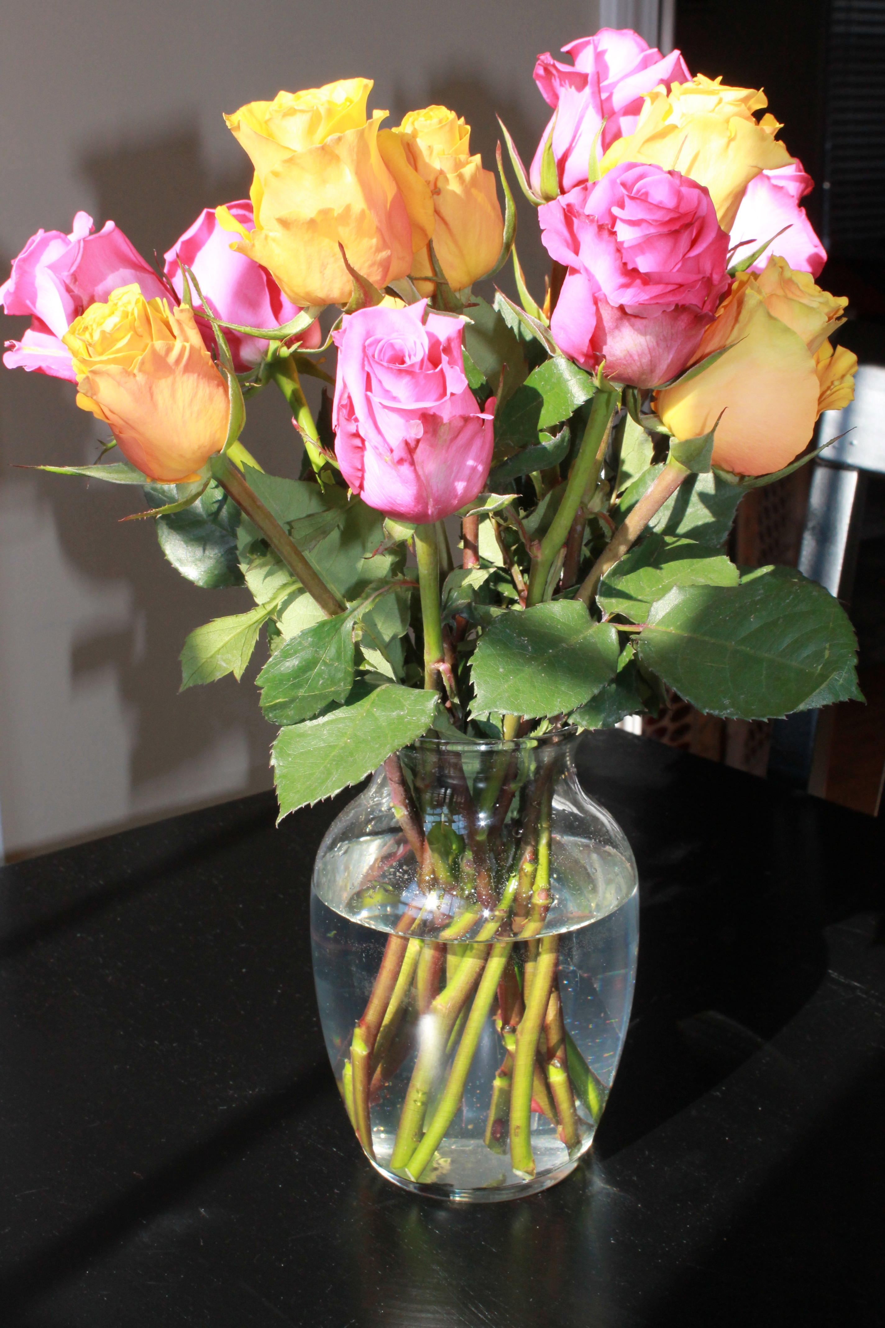 I got roses from a man that isnt my husband mommaalwaysknows today i got a dozen beautiful roses and they werent from my husband now before i set the rumor mill on fire they were from one of the customer service izmirmasajfo