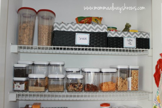 Pantry Organization Project