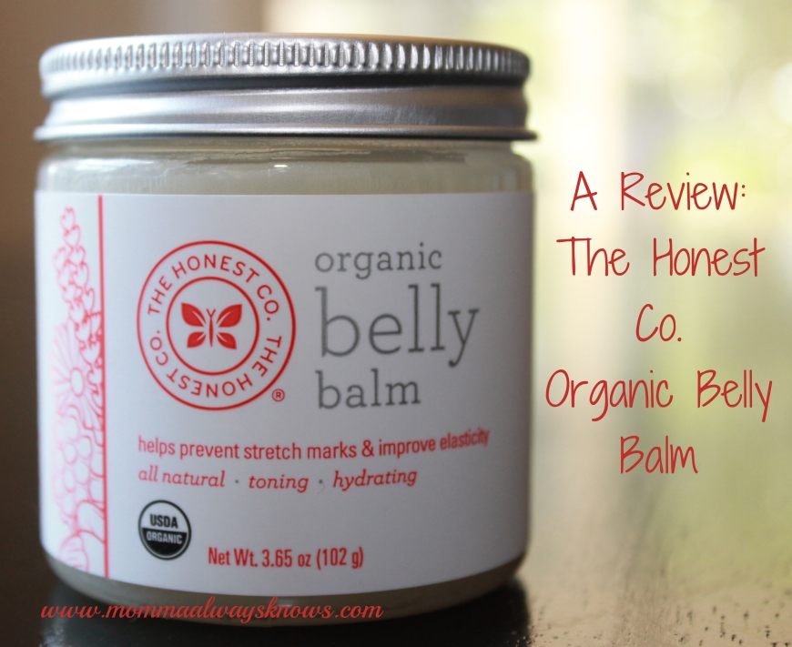 The Honest Co Organic Belly Balm Review