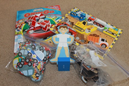 Toddler Quite Time Boxes