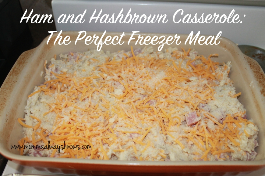Ham and Hashbrown Casserole
